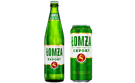 lomza beer - export jasne