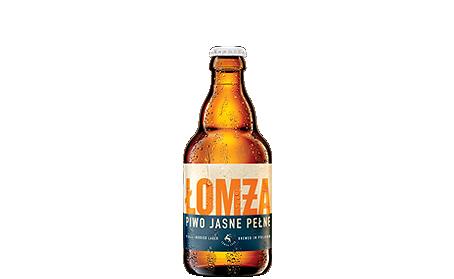 lomza beer - jasne pełne