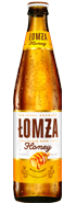 lomza beer - honey